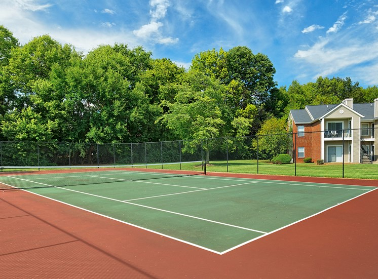 East Chase Apartments - Tennis court