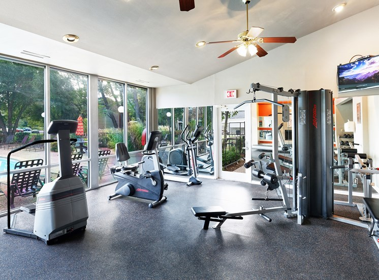 East Chase Apartments - Fully-equipped fitness center