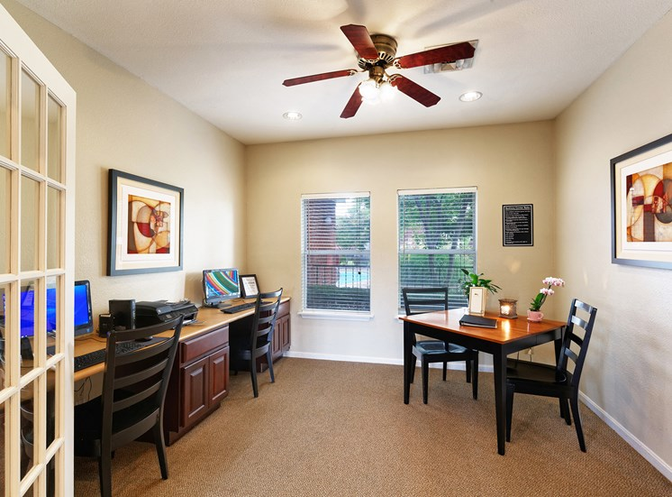 East Chase Apartments - Resident business center