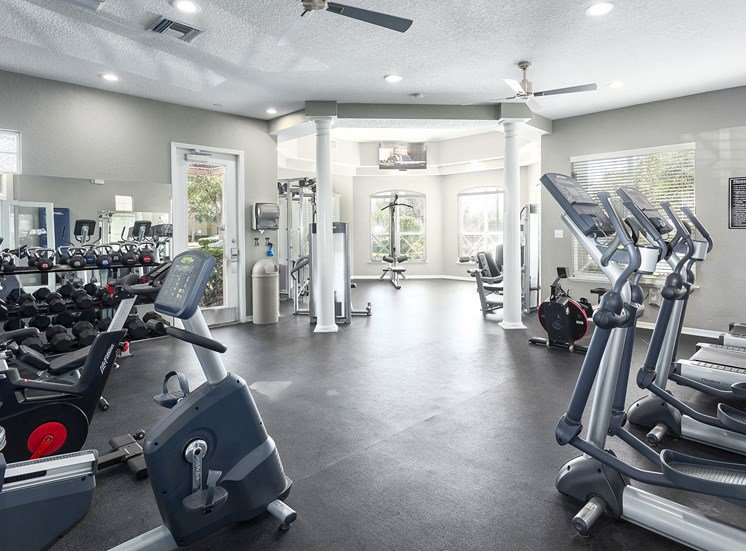 Andover at Cross Creek Apartments state-of-the-art fitness center