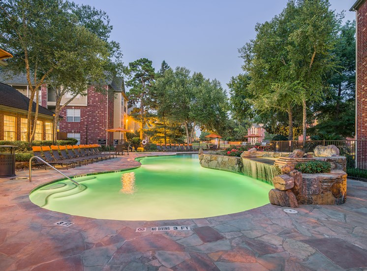 Wildwood Forest - Pool at twilight
