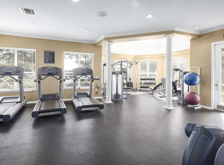 Addison Park at Cross Creek Apartments - State-of-the-art fitness center
