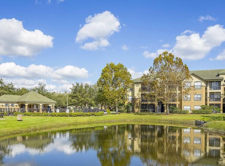 Addison Park at Cross Creek Apartments - Lake views