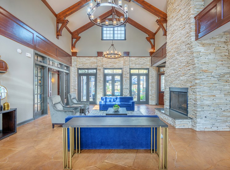 Lodge at Cypresswood Apartments - Resident clubhouse