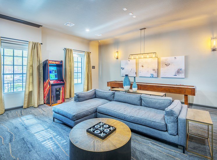 Lodge at Cypresswood Apartments - Resident game room