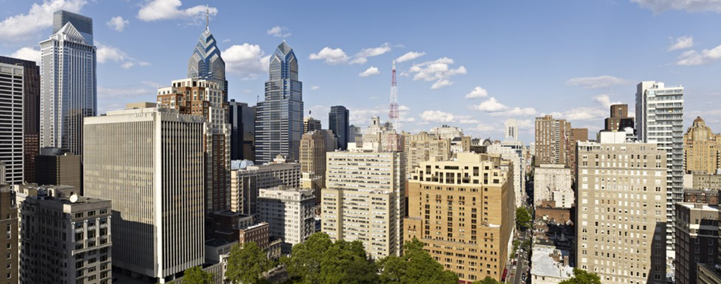 222 Rittenhouse skyline views