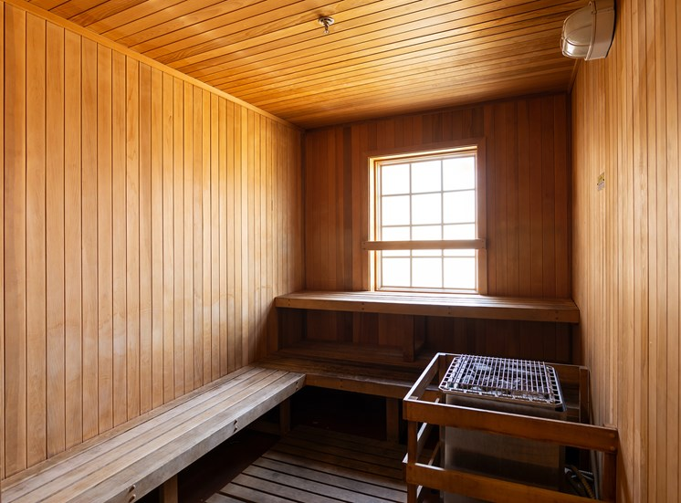 Barton Vineyard Apartments sauna