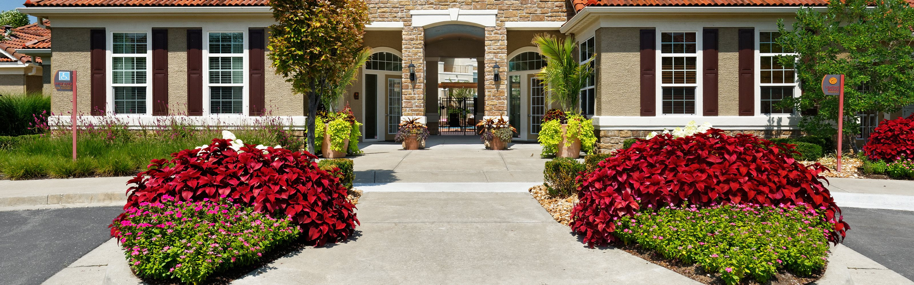 Cordillera Ranch Apartments front entrance