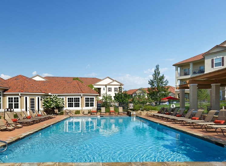 Cordillera Ranch Apartments - Resort-style saltwater heated pool