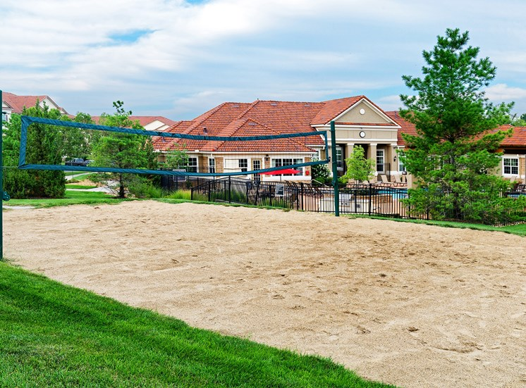 Cordillera Ranch Apartments - Sand volleyball court