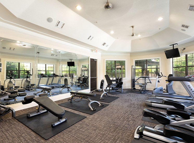 DeLayne at Twin Creeks 24-hour resident fitness center