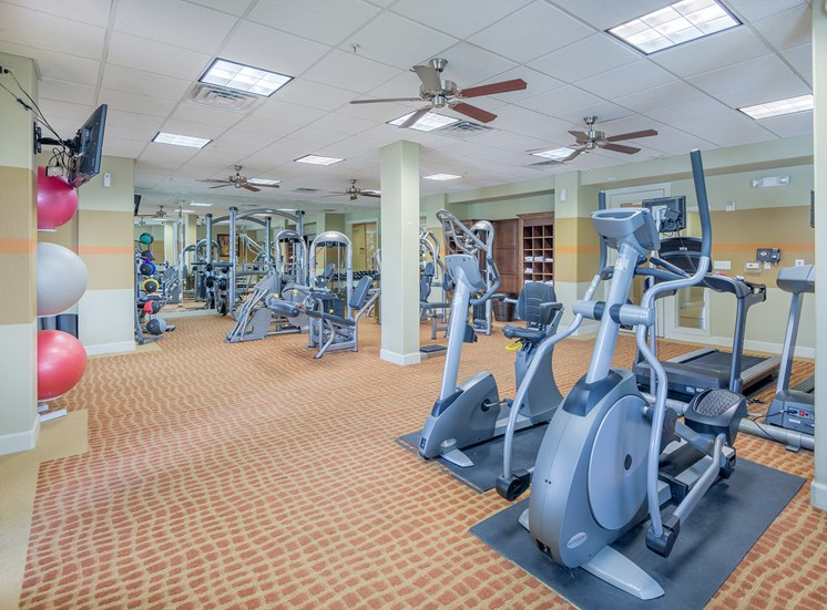 Monterra Las Colinas Apartments 24-hour fitness center