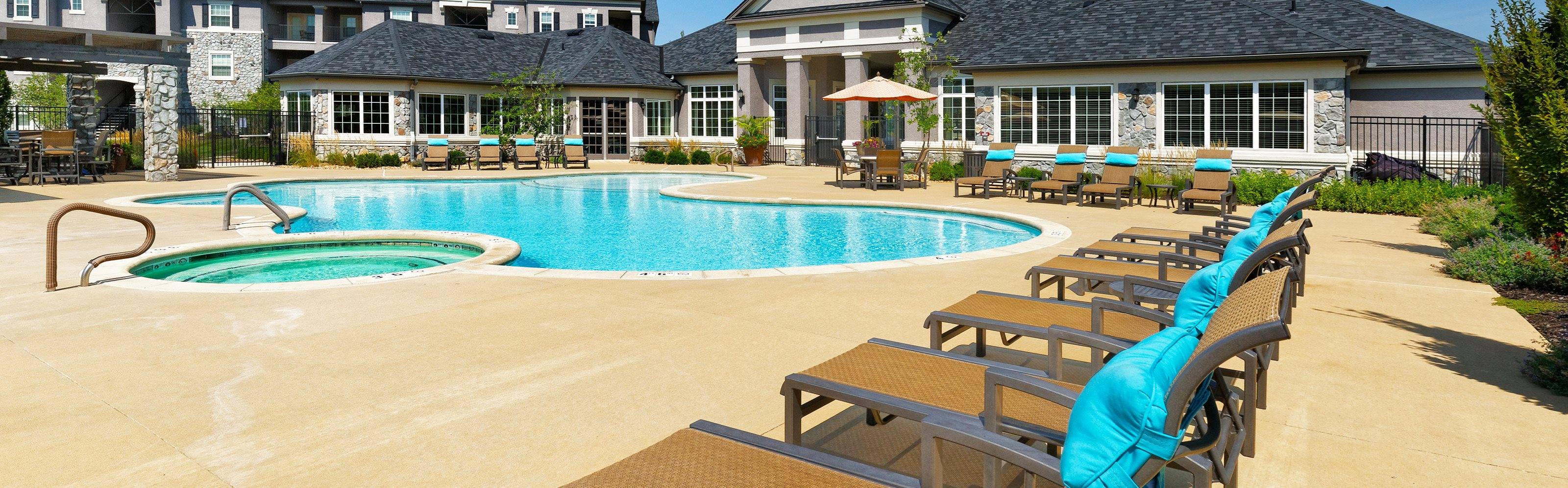Corbin Greens Apartments pool area