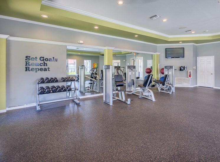 Fitness center - strength training