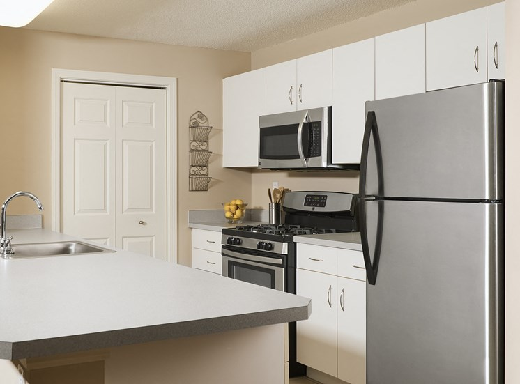 Hampshire Green Apartments - Gourmet kitchens with stainless steel appliances