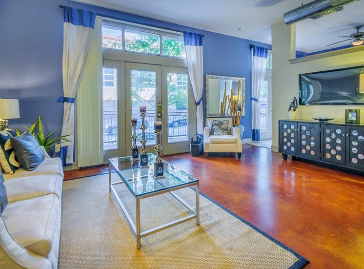 Lofts at Lakeview Apartments - Interior - Living room