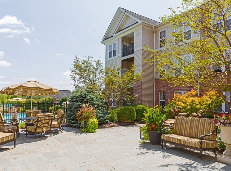Avenel at Montgomery Square - Outdoor social areas