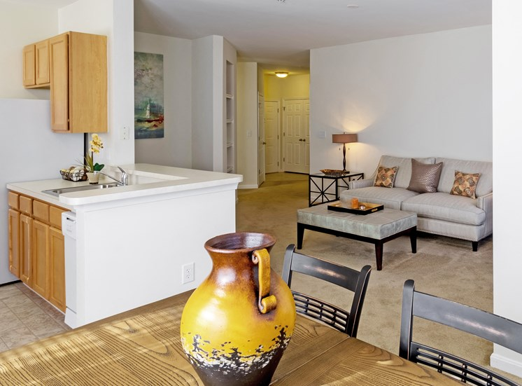 Avenel at Montgomery Square - Staged living room
