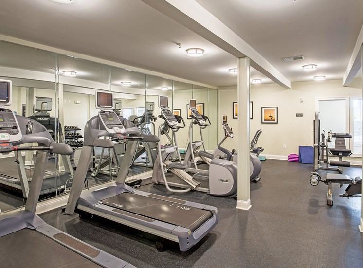 Avenel at Montgomery Square - State-of-the-art fitness center