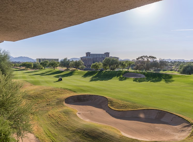 The Paragon at Kierland Apartments golf course view