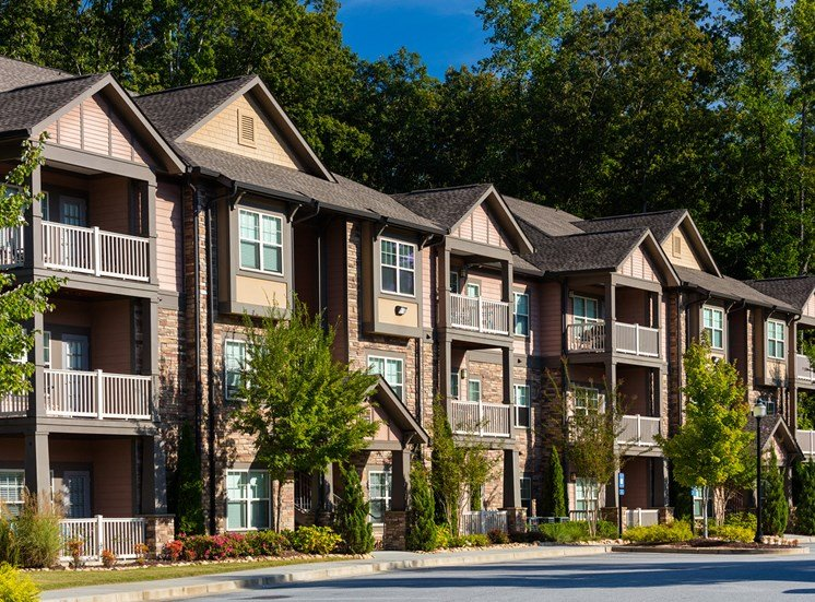 The Oaks at Johns Creek private patio, balcony or sunroom in each apartment home