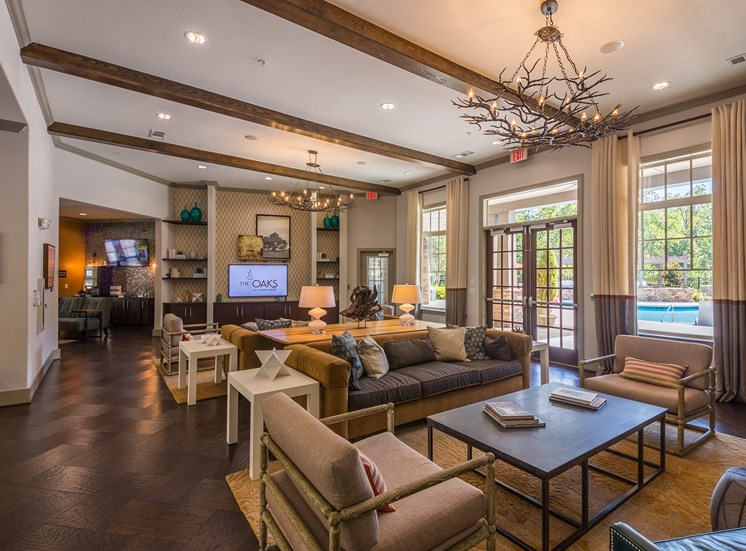 The Oaks at Johns Creek resident clubhouse