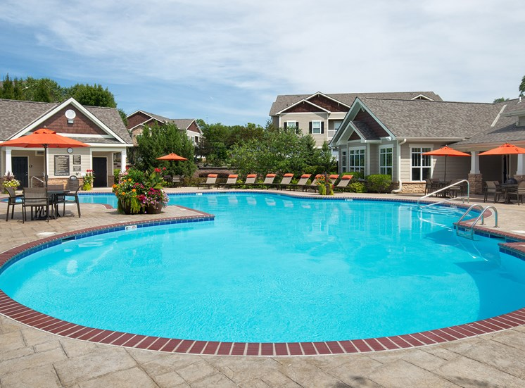 Carrington Place at Shoal Creek - Resort-style hilltop pool with sundeck