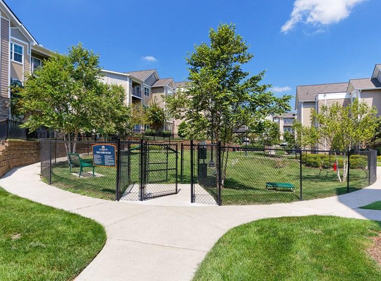 Glenbrook Apartments bark park