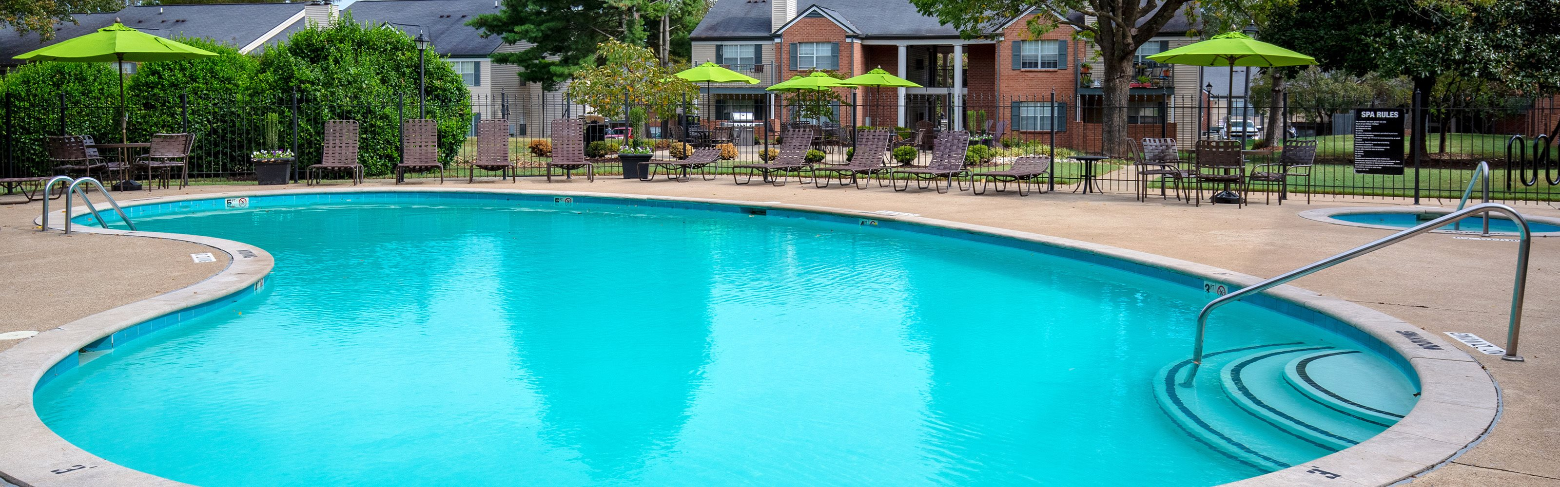 Littlestone of Village Green Apartments - Banner photo of pool