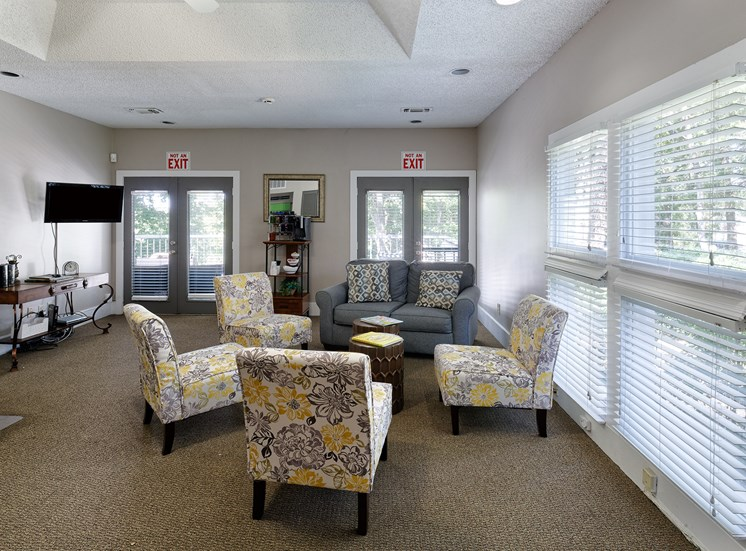 Arbor Hills Apartments resident clubhouse