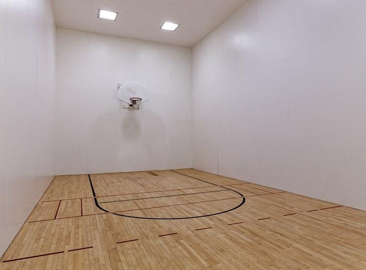 Arbor Hills Apartments indoor basketball court