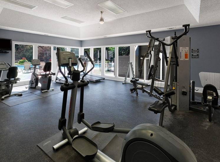 Arbor Hills Apartments fitness center