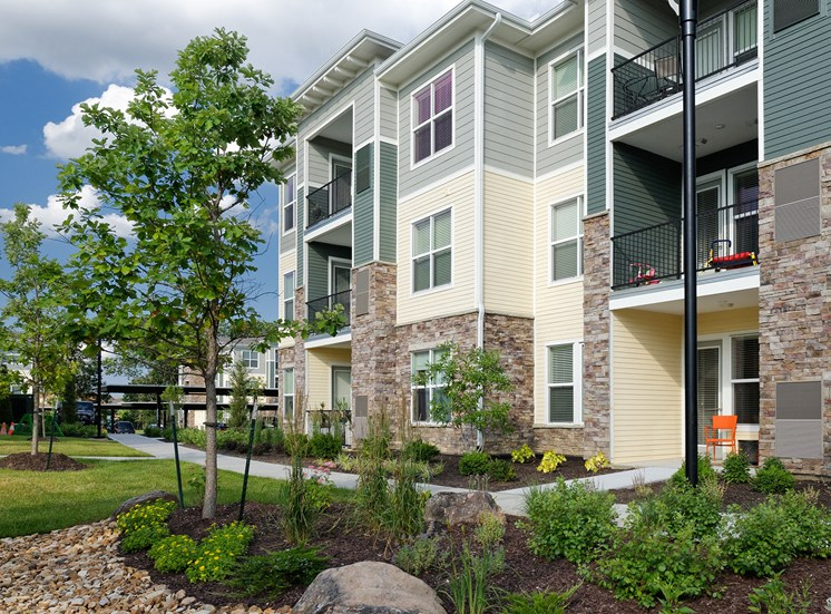The Haven at Shoal Creek private patio or balcony in each apartment home