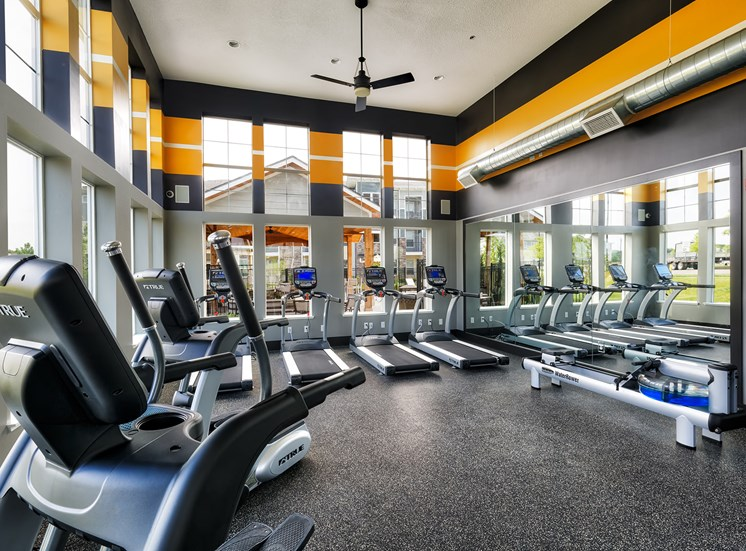 The Haven at Shoal Creek 24-hour fitness center
