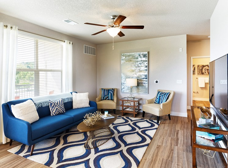 The Haven at Shoal Creek ceilings in living rooms