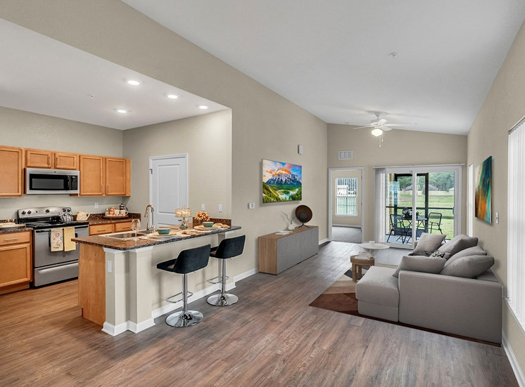 Vineland Landings Apartments in Kissimmee, FL. Make this community your new home or visit other Concord Rents communities at ConcordRents.com. Living room