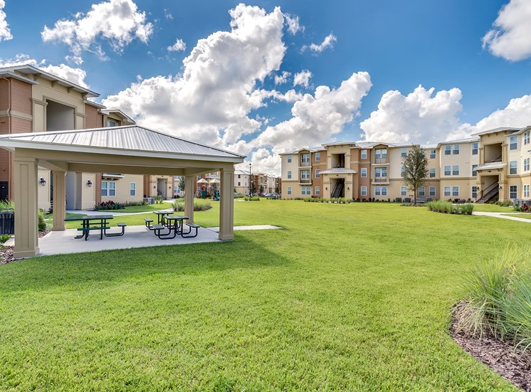 Vineland Landings Apartments in Kissimmee, FL. Make this community your new home or visit other Concord Rents communities at ConcordRents.com. Picnic tables