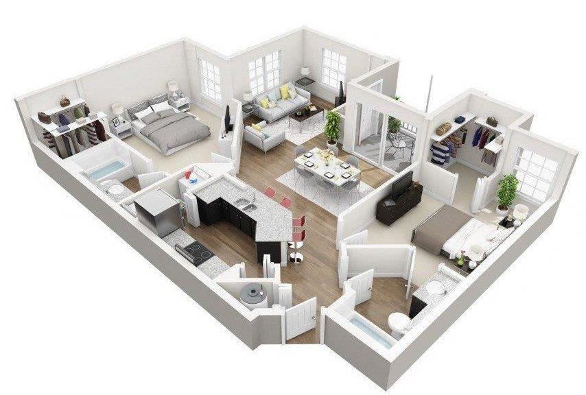 B2A Floor Plan 3