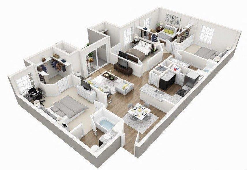 D2A Floor Plan 7
