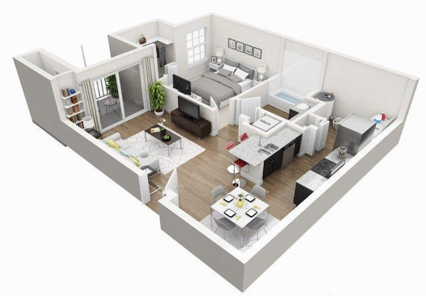 A1B Floor Plan 2