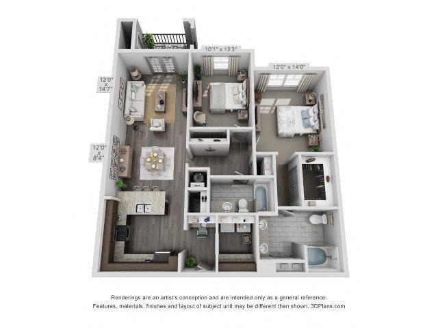 Cedar Floor Plan 3