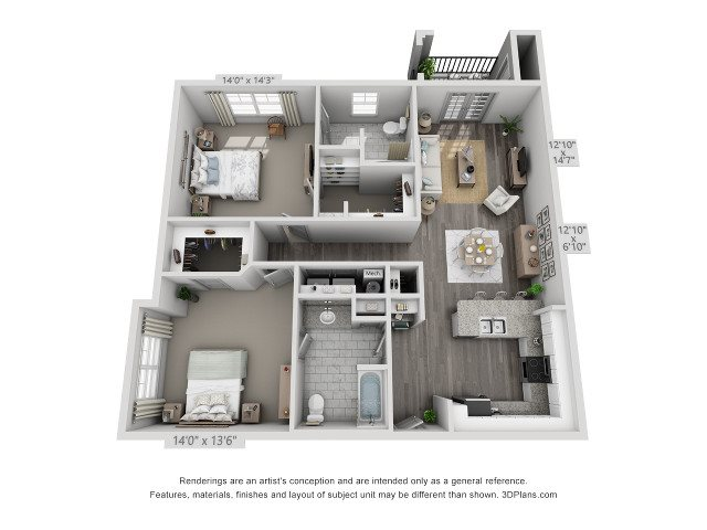 Elm Floor Plan 4