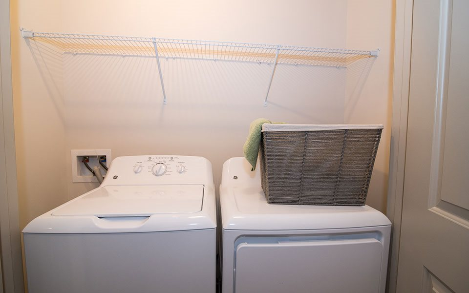 Washer and Dryer at Millis and Main at Grandover, Jamestown