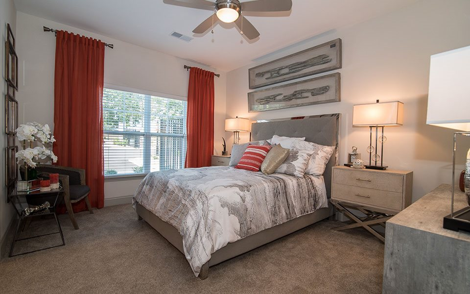 Bedroom at Millis and Main at Grandover, North Carolina, 27282
