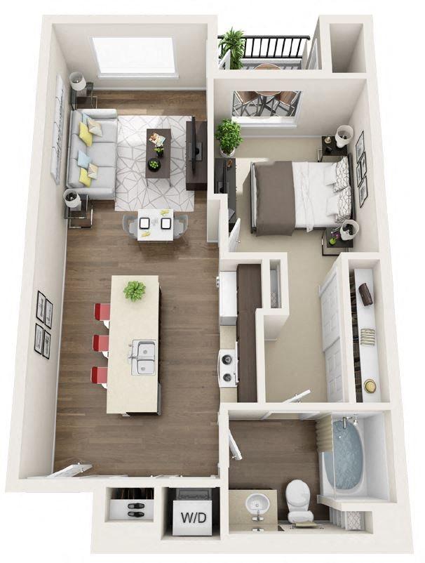 A1D Floor Plan 3