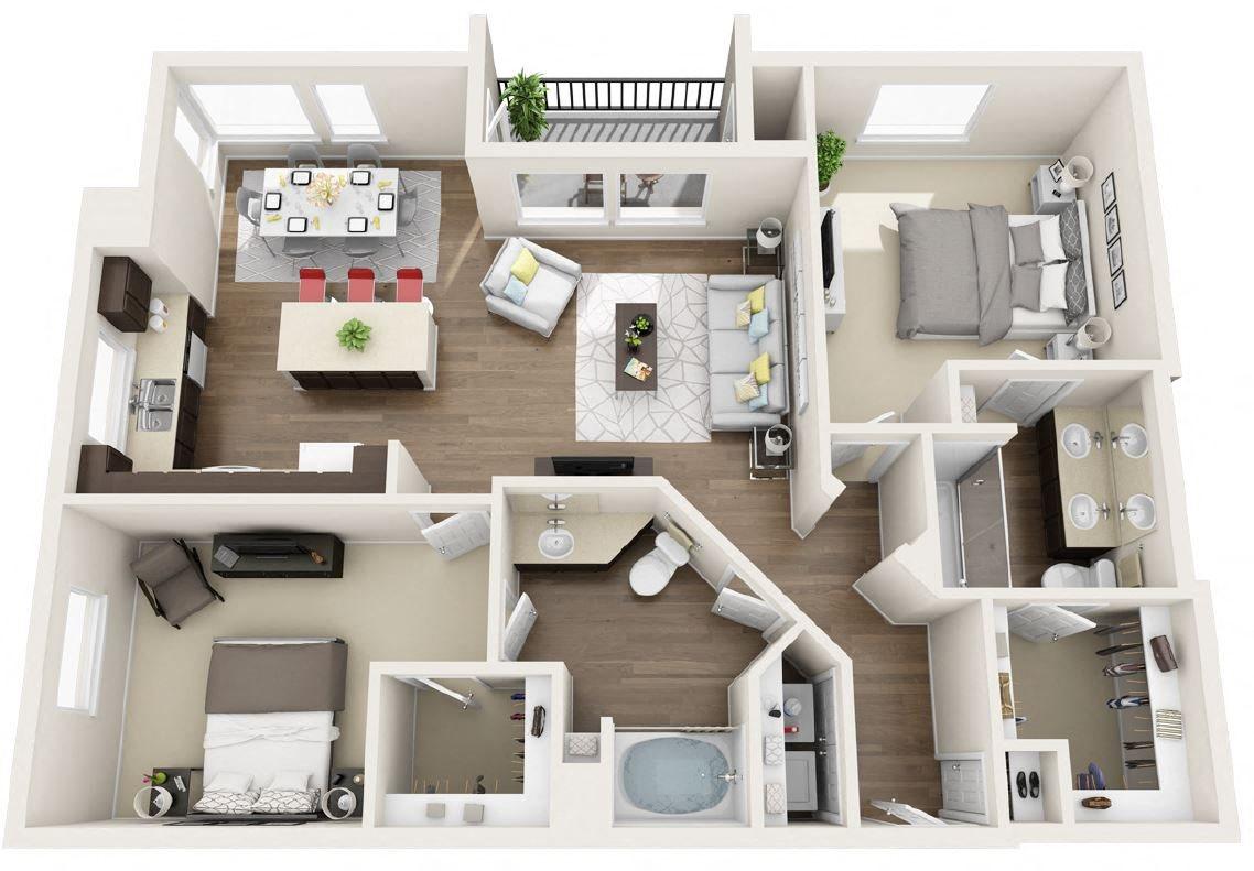 B2E Floor Plan 14