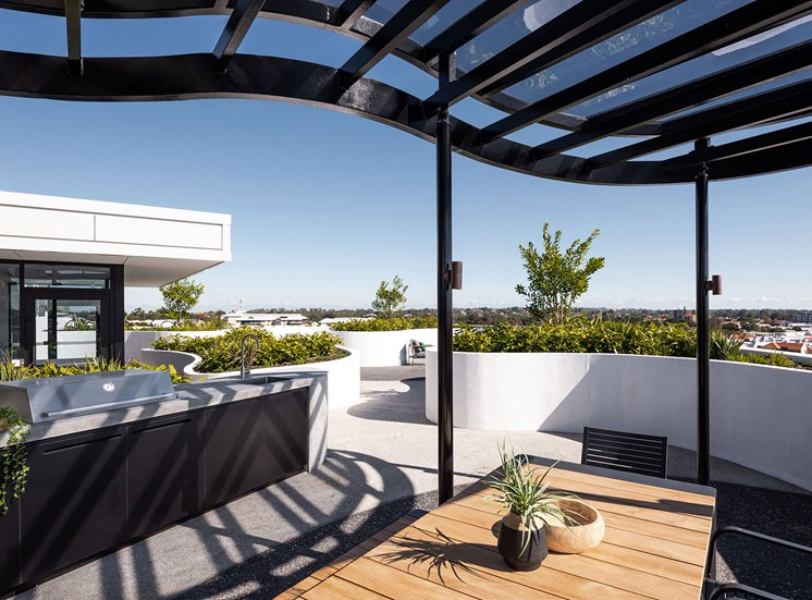 Element 27 - Rooftop lounge with panoramic views