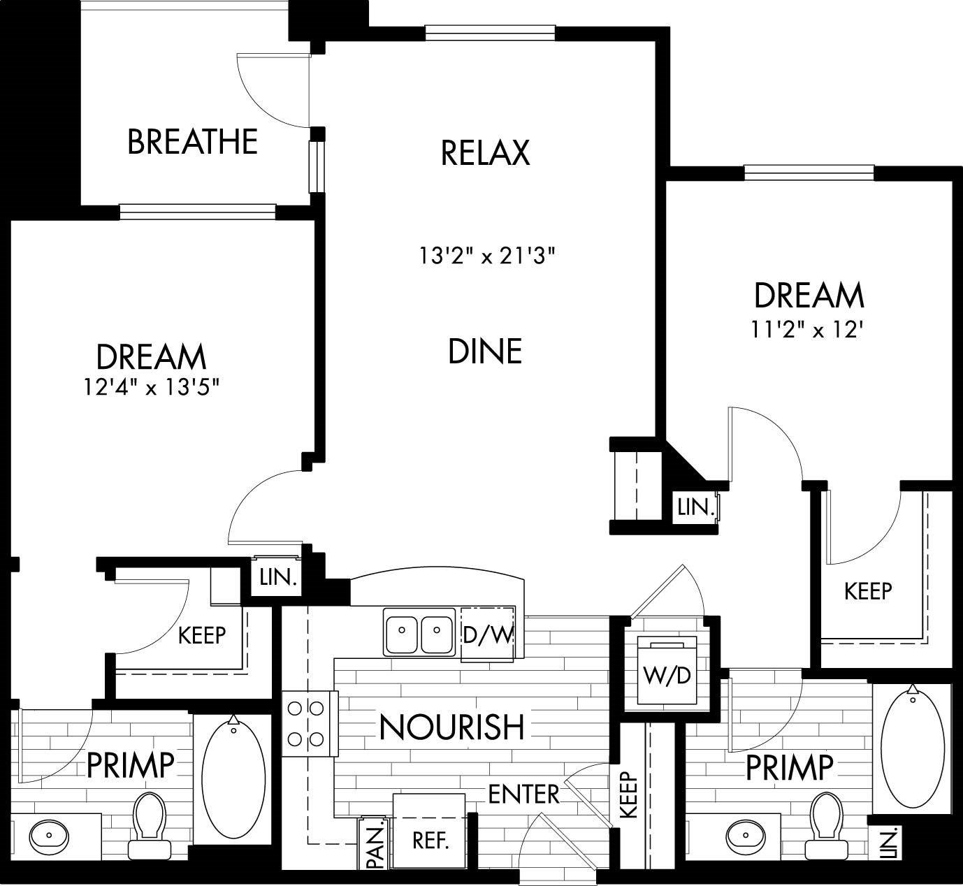 2B Floor Plan 9