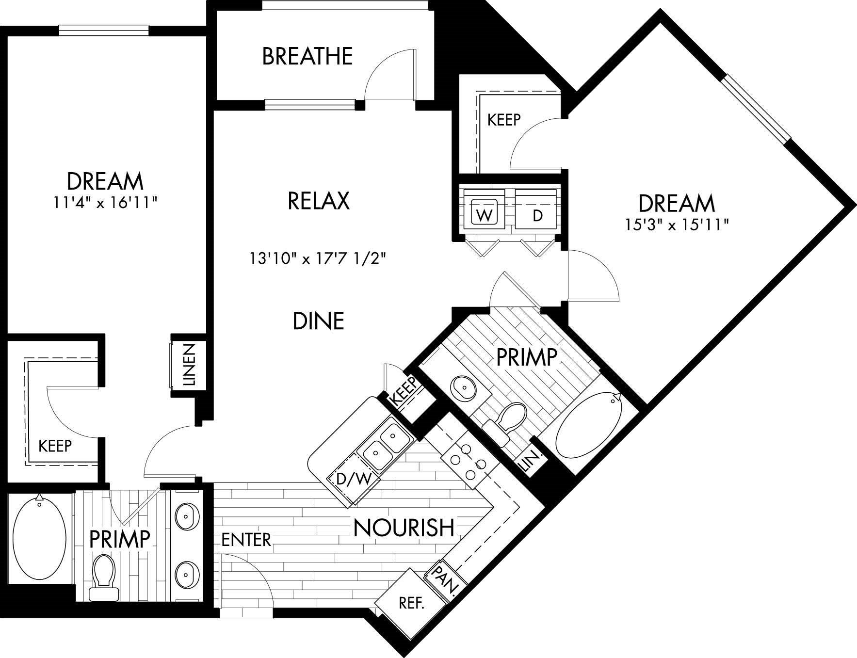 2H Floor Plan 15