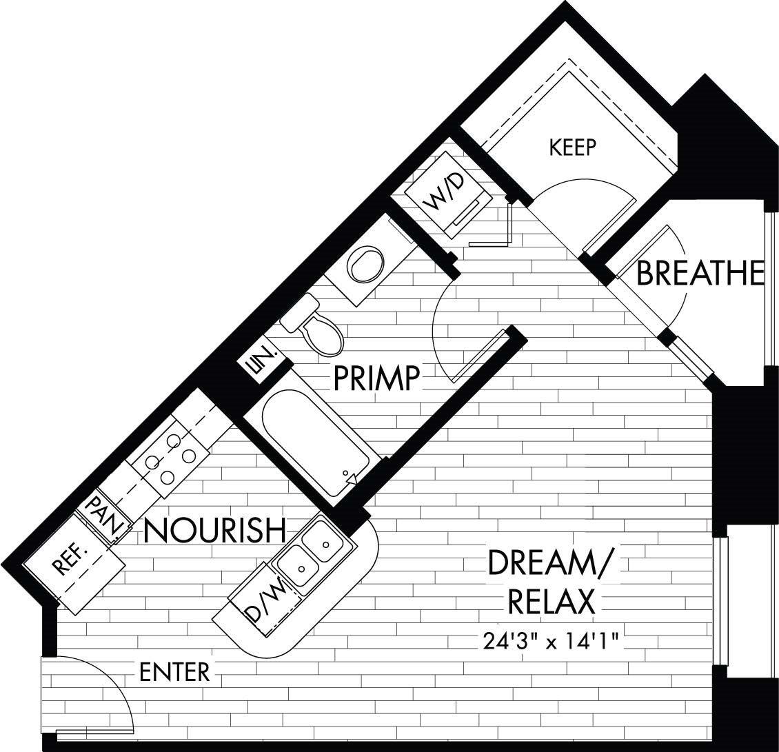 SA/SB Floor Plan 1